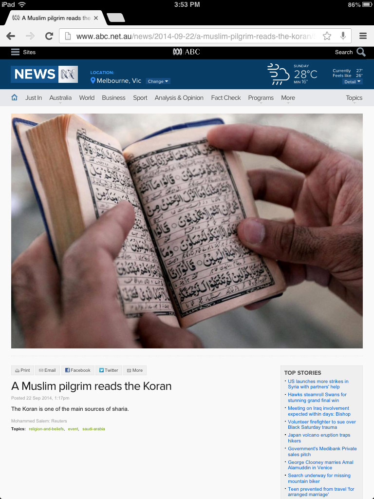 koran is the source of sharia Sharia is to do what is commanded in Koran - kill, behead, murder